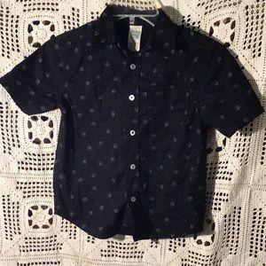Faded Glory boys button down shirt